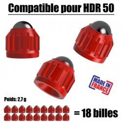 18 Slugs pour T4E HDR50 CO2...